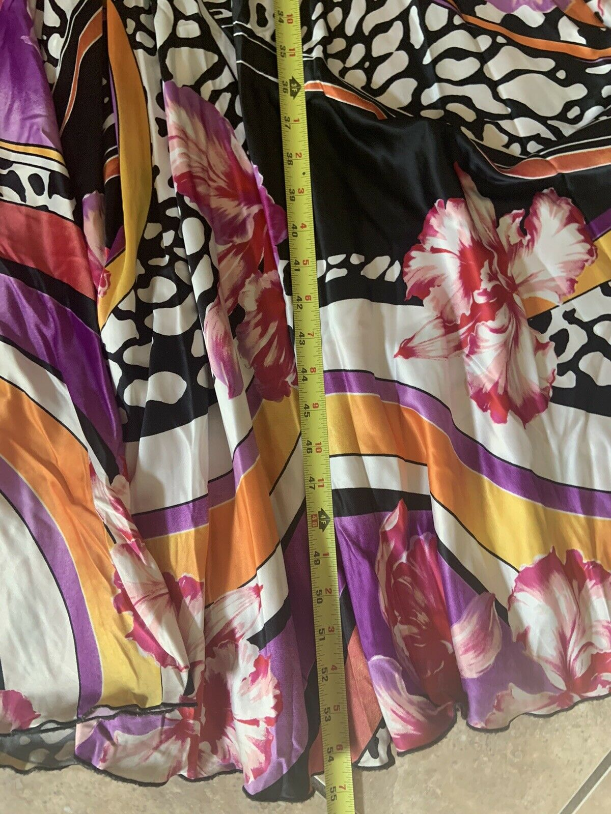 Cache 4 Maxi Strapless Printed Mermaid Dress Colo… - image 5