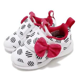 Details about adidas FortaRun X Minnie CF I Disney White Pink TD Toddler Infant Shoes D96918