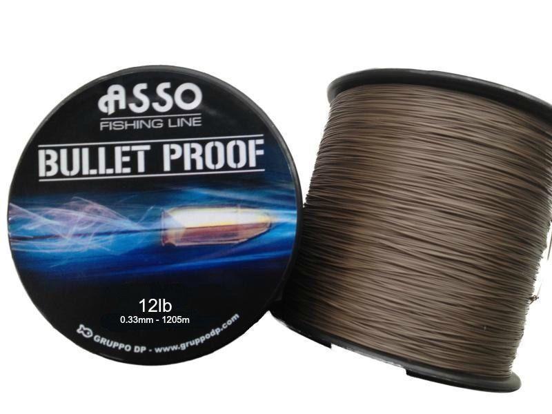 ASSO Bullet Proof Angelschnur weich See grob karpfen-linie 1035 M - 1205 Spulen