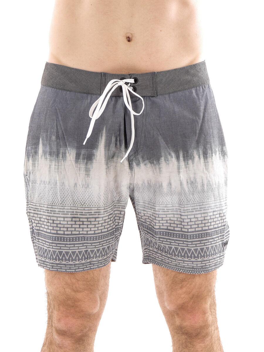 Brunotti Boardshort Ciacallo Swimwear Swimsuit Grey Lacing Pattern