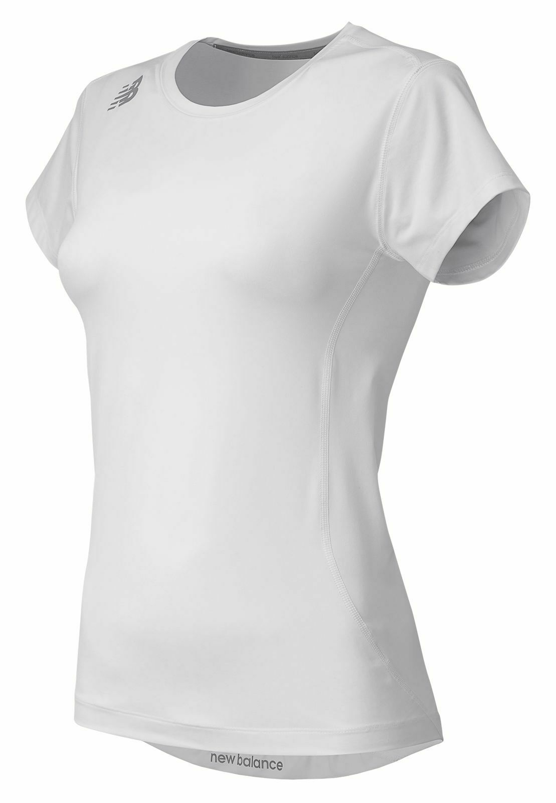 New Balance Women's NB Short Sleeve Compression Top White