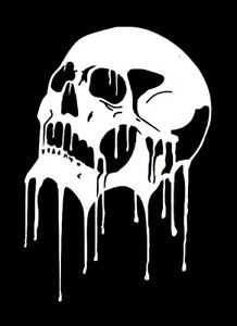 high detail airbrush stencil melting skull five free uk Rated PG-13 Logo Rated PG-13 Logo
