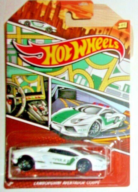 Hot Wheels Lamborghini Aventador Coupe HW Police Art ...