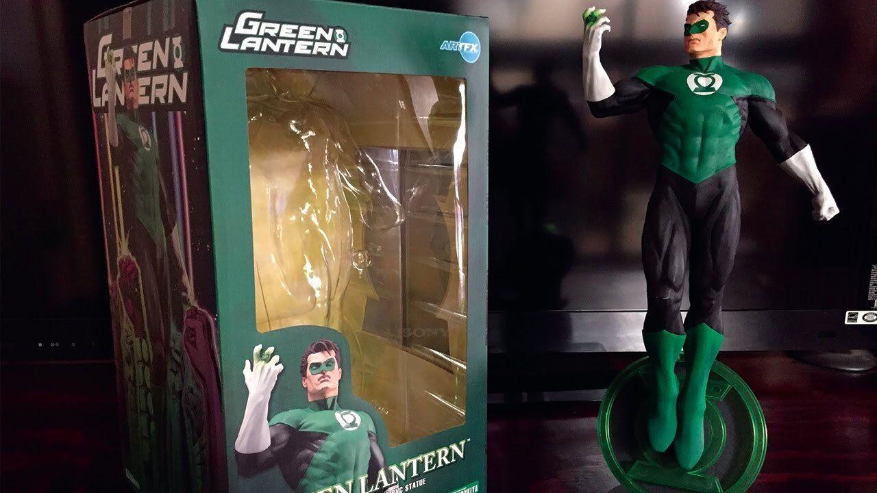 Kotobukiya DC Universe verde Lantern ArtFX Statue  NEW