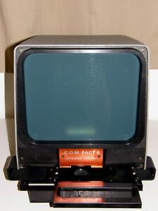 Microfiche Reader Viewer  New Old Stock  Gakken  Working