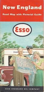 Details about 1953 ESSO Road Map NEW ENGLAND Machusetts Maine Vermont on map of pembroke maine, map of lexington maine, map of penobscot bay maine, map of franklin maine, map of cambridge maine, map of marblehead maine, map of new hampshire maine, map of roxbury maine, map of belmont maine, map of casco bay maine, map of burlington maine, map of falmouth maine, map of provincetown maine, map of deer island maine, map of united states maine, map of boston maine, map of maine and mass, map of topsfield maine, map of beverly maine, map of dayton maine,