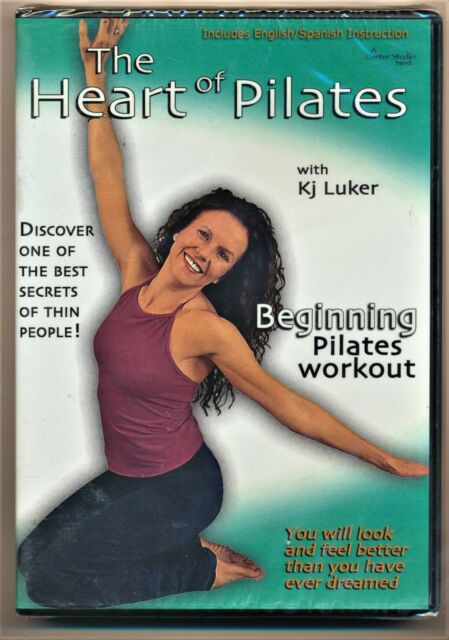 The Heart of Pilates DVD Beginning Pilates Workout New and Sealed
