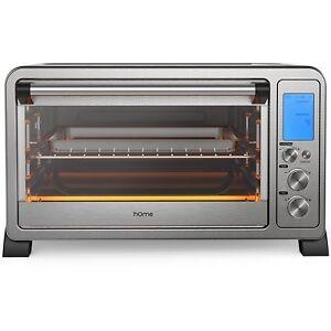 Horno electrico peque os de cocina tostadora acero for Hornos de cocina electricos