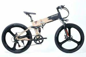 350W Full Size Foldable Road e-bike with Mag Wheels  (RF350 By Merkava). Folding Electric Bicycle, Compact e-bike. Canada Preview