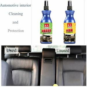 Image Is Loading Refurbisher 100ml Agent Car Interior Leather Seats Clean