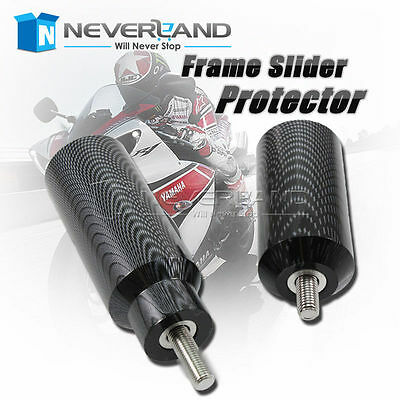 Frame Sliders Protector for Kawasaki ZX6R 636 05-06 2005 2006 Motorcycle Carbon
