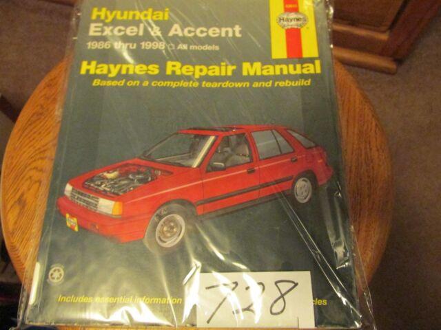 Haynes  43015 Hyundai Excel 1986
