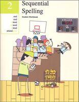 Sequential Spelling 2 Student Workbook