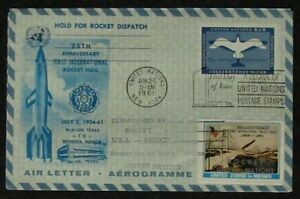 s1233-Raketenpost-Rocket-Mail-Nr-11-United-Nations-Mexico-June-26-1961