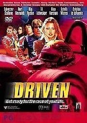 1 of 1 - Driven - DVD - Sylvester Stallone, Burt Reynolds - Free Post!