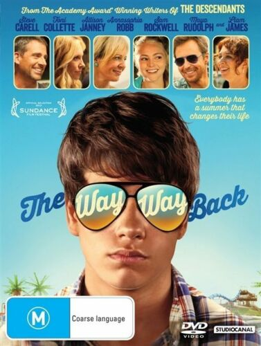 1 of 1 - The Way Way Back (DVD, 2013)