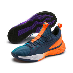 new concept e0c4a f2148 Puma Uproar Hybrid Court ASG Fade Basketball Shoes - Orange ...