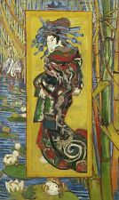 Japanese painting by Vincent Van Gogh Giclee Fine Art Repro Canvas Print 20x33