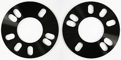 2 x 3mm Hubcentric Bore Alloy wheel spacers Fits Vauxhall Corsa D E 56.6 4x100