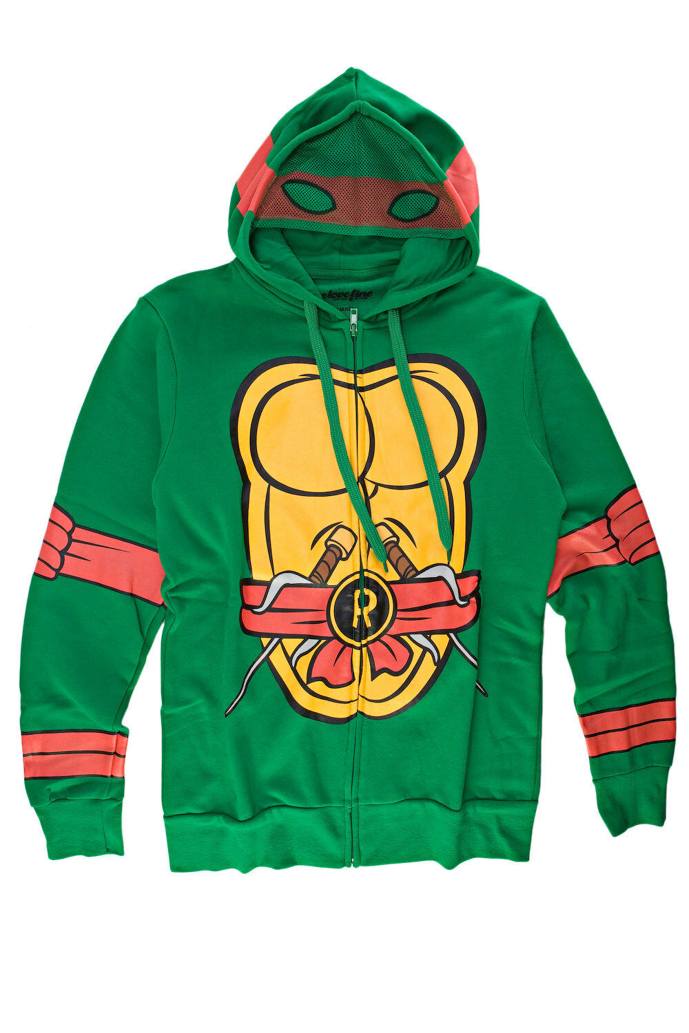 Teenage Mutant Ninja Turtles I Am Raphael  Herren Zip-Up Costume Hoodie