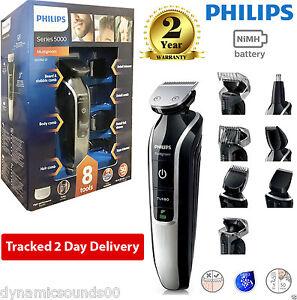 phillips qg3362 23 12 in 1 mens hair beard moustache nose clipper trimmer shaver ebay. Black Bedroom Furniture Sets. Home Design Ideas