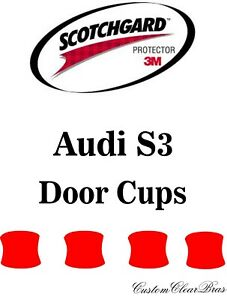 Details About 3m Scotchgard Paint Protection Film Clear Pre Cut Kit 2017 2018 2019 Audi S3