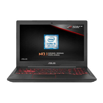Asus TUF Gaming 15.6 Inch Laptop Intel I5-8300H 8GB RAM 1TB HDD Nvidia GTX 1050