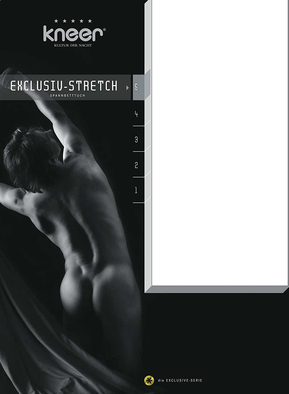 Serraggio LENZUOLA Exclusive-qualità stretch 93 180-200 CM x 200-220cm a 40cm di altezza