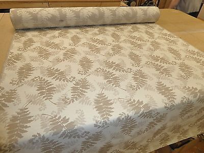 NATURAL BEIGE - Weave Upholstery Fabric (M&S ~ Resen Fern)