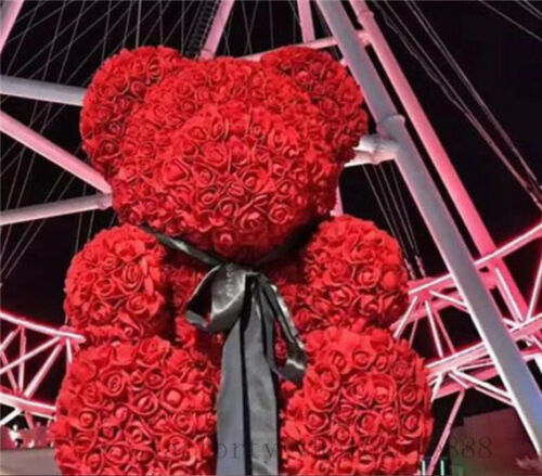 70cm Giant large huge big teddy bear rose flower bear toys Birthday wedding gift