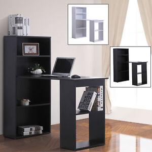 Image Is Loading 47 034 Modern Computer Desk And Bookshelf Set