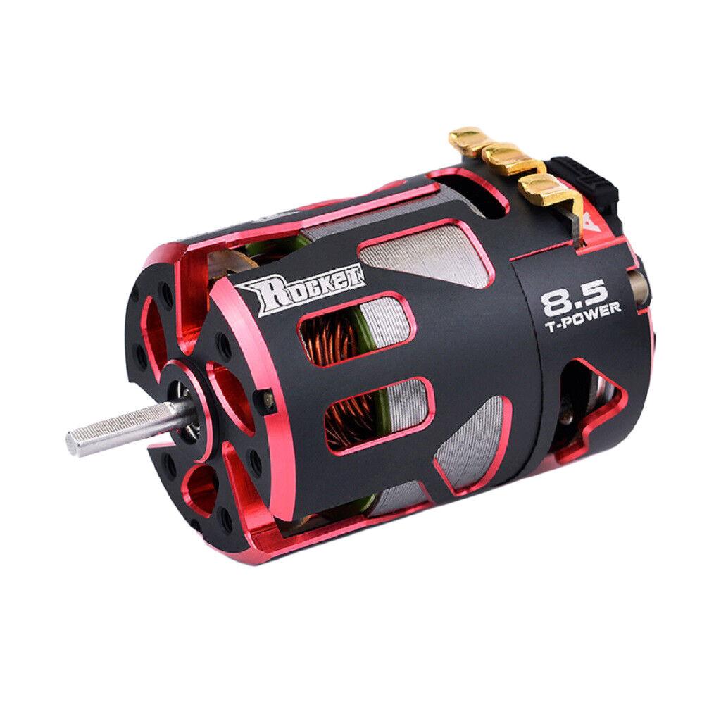 Rocket 540 V4S Sensorojo Brushless Motor Modified 8.5T per 1 10 1 12 RC Coches