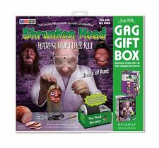 Shrunken Head Ham Sculpture Kit Gag Gift Box