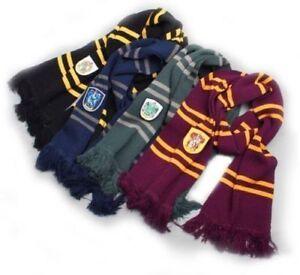 Xmas-Harry-Potter-Gryffindor-Echarpe-Laine-Chale-Maison-Costume-Cosplay-Cadeau