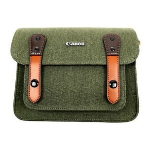 CANON-Camera-Bag-6520-D-SLR-SLR-RF-Mirrorless-Lens-Pocket-Shoulder-Bag-Khaki