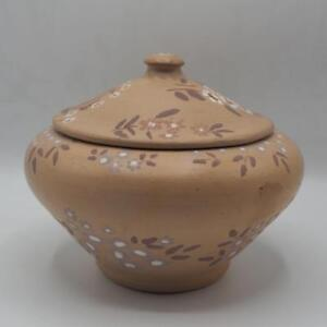 Vintage-Hand-Made-Pot-Aroeira-Pottery-Vase-Bowl