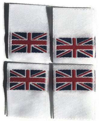 100 Woven Union Jack Union Flag Woven Labels Woven Garment Clothing Label 20mm