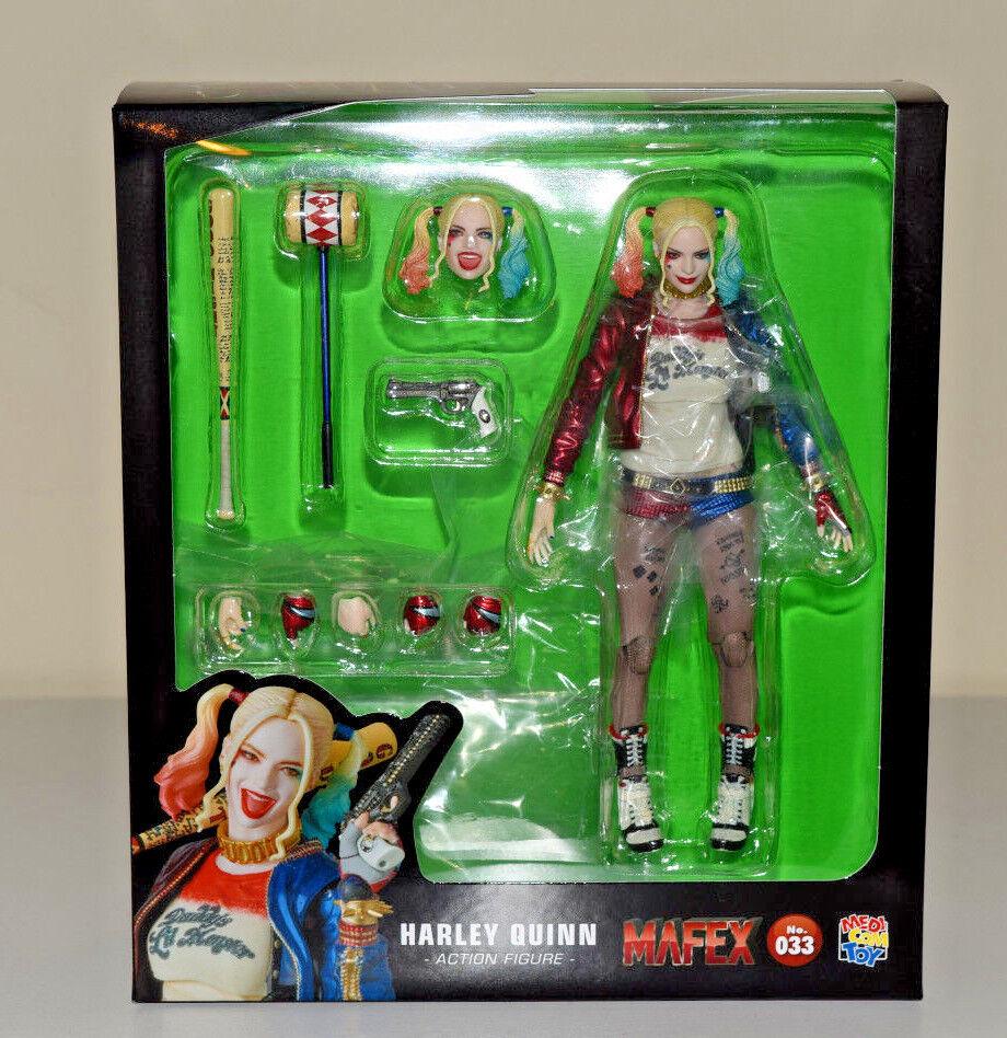 Harley quinn suicide squad mafex medicom actionfigur dc comics - 033 - neue
