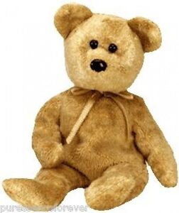 d914aa61dfb TY BEANIE  CASHEW THE BROWN BEAR (Beanie Babies Collection) (New Tag ...