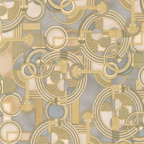 Robert Kaufman Lavish Geo space Shadow Metallic 100/% cotton Fabric by the yard