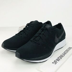 777c16f2b19a Nike Air Flyknit Trainer Men s Size 14 Black White Running Shoes ...
