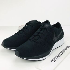 5ea1849aca9f5 Nike Air Flyknit Trainer Men s Size 13 Black White Running Shoes ...