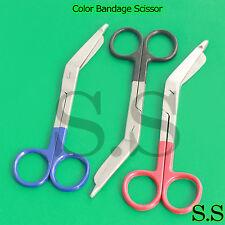 Color Bandage Scissor Paramedic Nurses Uniform,Set Of 3 Pieces (Black,Blue,Red)