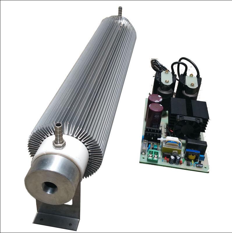 50G/H Water-Cooled Sterilization Purify Ozone Generator Kit ozonizer t