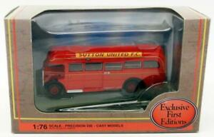 EFE-1-76-Scale-Diecast-Model-Bus-30004A-AEC-Regal-10T10-Sutton-Utd-FC