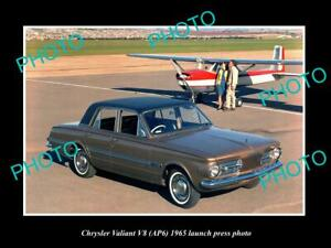 Details about OLD POSTCARD SIZE PHOTO OF 1965 AP6 CHRYSLER VALIANT V8  LAUNCH PRESS PHOTO 2