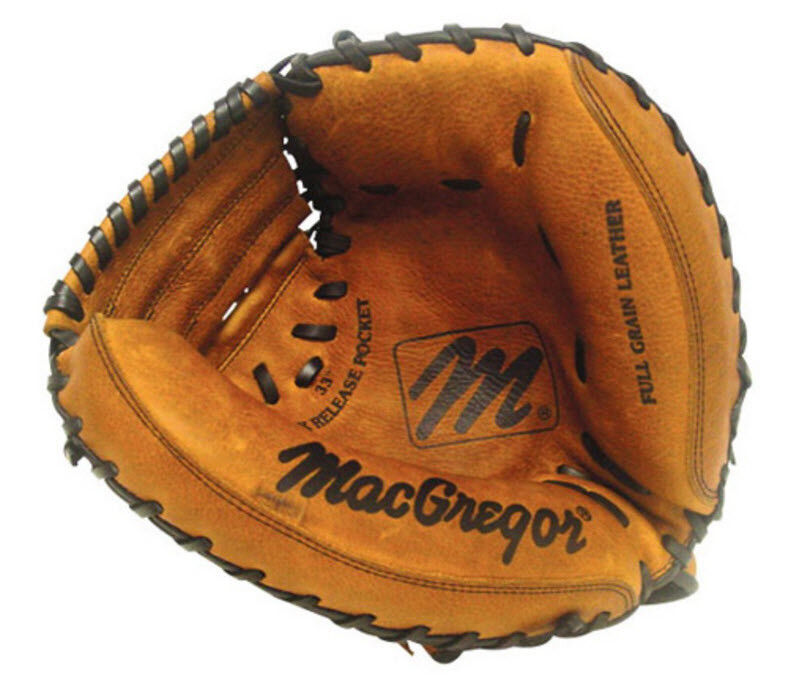 Mens Baseball Catchers Mitt Adult Right Hand Throw Varsity Oiled Leather