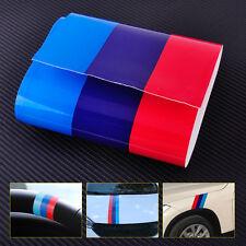 2M M-Colored Car Hood Vinyl Sticker Decal Stripe Fenders For BMW 3/5/7 Serie X1