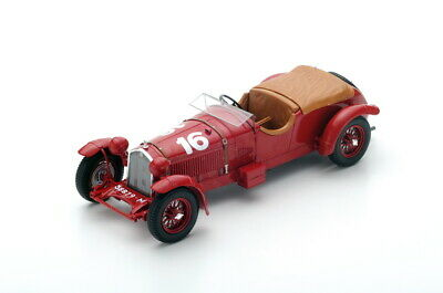 2019 Ultimo Disegno Spark Alfa Romeo 8c 2300 #16 - Howe/birkin - Winner Le Mans 1931 1/18
