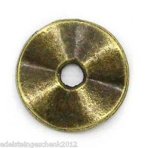 100-Bronze-Rund-Spacer-Beads-10mmD